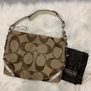 COACH Signature Slim Carly Shoulder Bag
